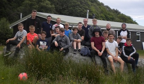 boys and staff at Camp 2017